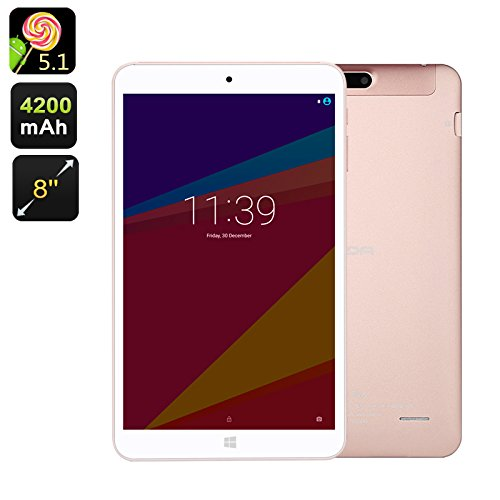 "onda tablet Onda V80 SE Tablet Android 8"" IPS CPU Quad Core WiFi Slot SD 256GB Supporto 3D"