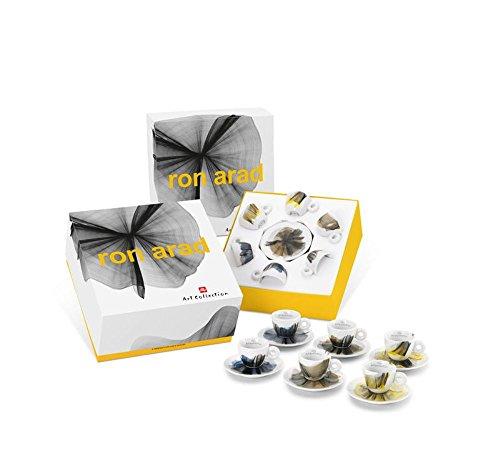illy art collection 2017 RON ARAD - 6er Set Espressotassen