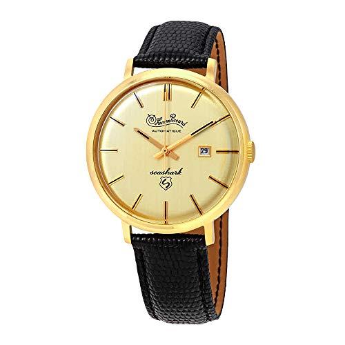 Lucien Piccard Seashark LP-18115-YG-10 - Reloj automático para Hombre con Esfera de champán