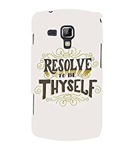 PrintVisa Designer Back Case Cover for Samsung Galaxy S Duos 2 S7582 :: Samsung Galaxy Trend Plus S7580 (Quote Love Heart Messages Crazy Express Sorry )