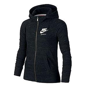 Nike Gym Vintage FZ Hoodie YTH Sweatshirt, Mädchen