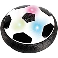 Mengonee Destella de la música Juguetes balón de fútbol colores de luz LED de disco de aire de alimentación de fútbol sala de cernido del fútbol