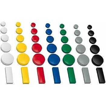 30x magnete farbig sortiert 24 32 54x19 mm in 3 gr en haftmagnete f r whiteboard. Black Bedroom Furniture Sets. Home Design Ideas