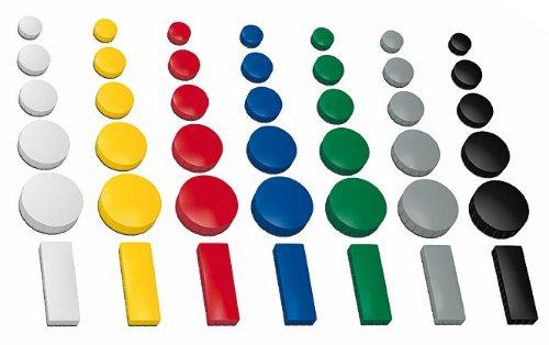 preisvergleich 30x magnete farbig sortiert 3 verschieden gr en willbilliger. Black Bedroom Furniture Sets. Home Design Ideas