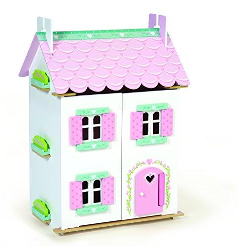 Preisvergleich Produktbild Puppenhaus, Landhaus Sweetheart aus Holz