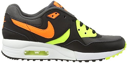 Nike Air Max Light (gs), Unisex-Kinder Sneakers Grau (dark Grey/total Orange/vlt/blk)