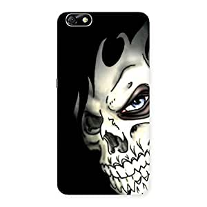 Gorgeous Nasty Face Art Multicolor Back Case Cover for Honor 4X