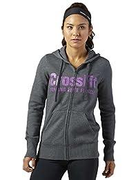 Reebok Women's Rcf Full Zip Sweaters