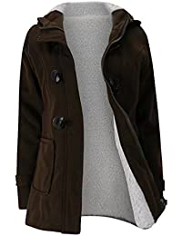 Outtop Women's Winter Warm Thicker Coat Casual Jacket Cotton Tops for Teen s