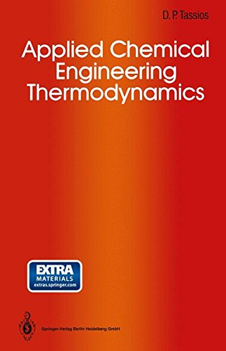 Applied Chemical Engineering Thermodynamics