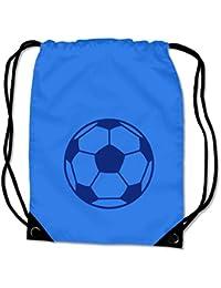 plot4u Turnbeutel Fußball Sportbeutel für Fußballschuhe und Trikot Bag Base® BG10 Gymsac 8 Farben 45 x 34 cm preisvergleich bei kinderzimmerdekopreise.eu