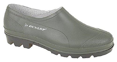 Dunlop Giardiniere Hevea-Zoccoli da Giardino Verde, Verde (Green PVC), 47 EU