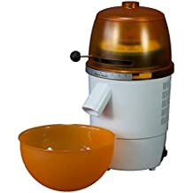 Hawos Novum in Orange/Weiss Getreidemühle 360Watt Mahlleistung 125g/min