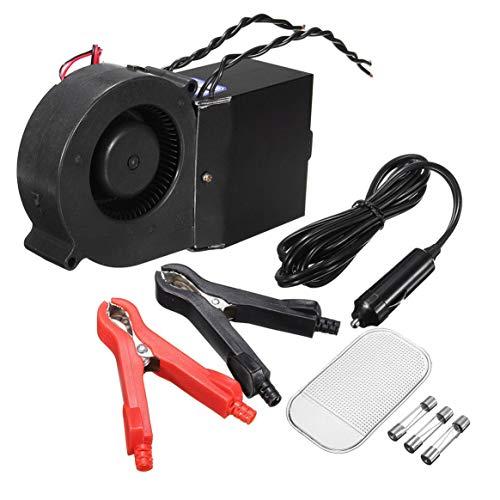 Beweglicher 12V PTC 300W 500W justierbarer Auto-LKW-Heizungs-Heizung Kühler-Entfroster Demister DC Brushless-Ventilator - Schwarzes