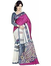 Muta Fashions White Printed Beautiful Women ( MUTA301_Free Size_White )