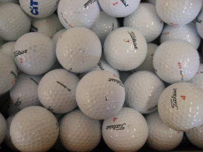 50 Assorted Titleist Golf Balls AAA/AA Grade - Lakeballs