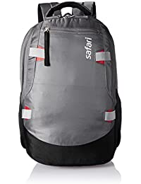 Safari Polyester 40 Ltrs Grey Laptop Backpack (Brisk)
