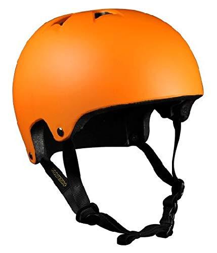 HARSH BY MADD MGP SCOOTER SKATER HELM Skaterhelm BMX Helm (Medium, ORANGE)