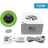 Cámara panorámica de la cámara del Dispositivo P2P de la cámara del Control de la cámara de WiFi del pequeño tamaño HD inalámbrico Inteligente