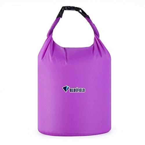 OUTAD Bolsa Estanca Bolsa Seca Impermeable y Resisitente para Canotaje Playa Deportes Acuáticos Kayak (púrpura, 10L)