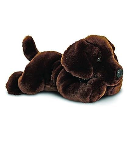 Schokoladenbrauner Labrador Hund Plüschtier