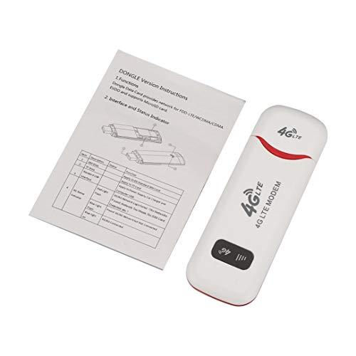 sdfghzsedfgsdfg 3G / 4G LTE Wireless-LAN-Router USB-Modem-Stick-Netzwerkadapter Wireless WiFi Hotspot Router Modem Outdoor Wireless-Sharing weiß
