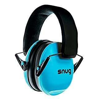 Snug Safe n Sound Kids Ear Defenders/Hearing Protectors – 5 YEAR WARRANTY - (Aqua Blue)