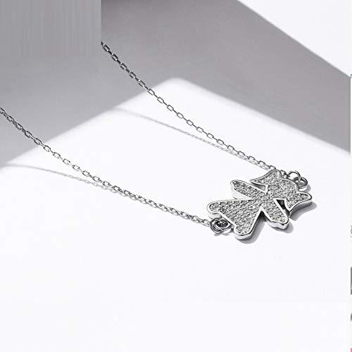 Silberkette 925 Sterling Silber süße Mädchen Modeschmuck