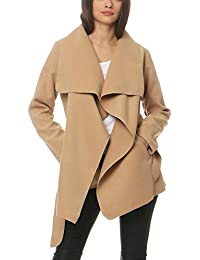 schöner Stil verschiedene Stile Wählen Sie für authentisch Suchergebnis auf Amazon.de für: wasserfall mantel: Bekleidung