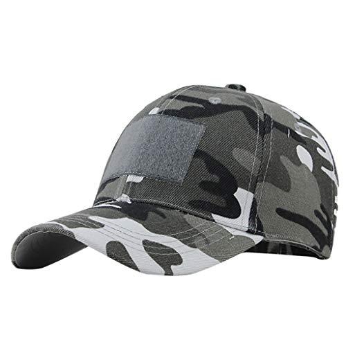 Unisex Baseballkappe/Baseballmütze, Camouflage, unifarben weiß Plaid Trucker Hut