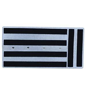 Bajo Guitarra el/éctrica a USB Cable de enlace de interfaz Adaptador de grabadora de audio a computadora para PC para adaptador de grabaci/ón de m/úsica MAC color: negro