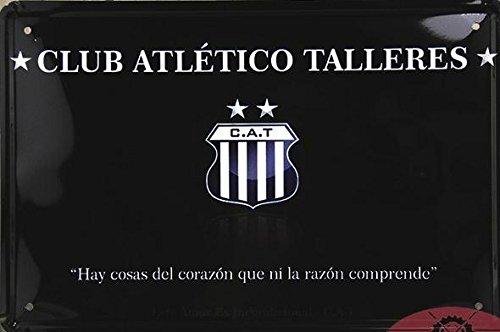 (19999) - CLUB ATLETICO TATTLERES metallo calcio Poster Room Home Decor Retro adesivo parete segno di stagno 20*30 cm mescolare elementi
