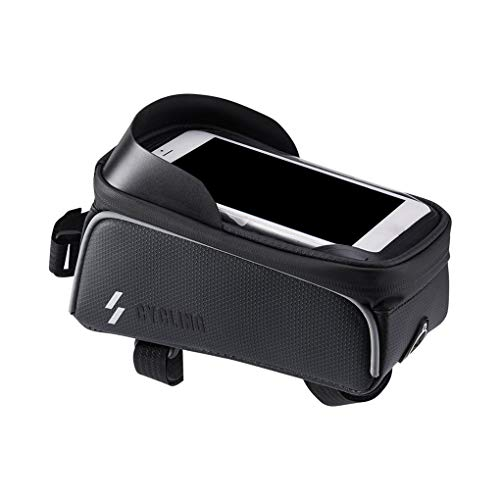 Luckiests Touchscreen-Telefon 6.0 Zoll MTB-Fahrrad-Beutel-Gebirgsfahrrad-wasserdichte Satteltasche Top Frontseiten-Schlauch-Beutel - Top-touchscreen-handys