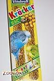 Vitakraft Kräcker für Sittiche mit Honig mit Cliphalter 2er