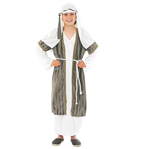 Fun Shack FNK3474L Kostüm, Unisex Children, Shepherd Grey, L