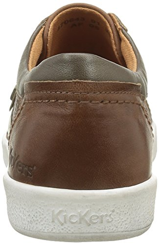 Kickers Happystill, Sneaker Basse Donna Marron (Marron Clair Bronze)