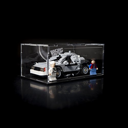 21103 Acrylic Display case for the LEGO Delorean Back to the Future