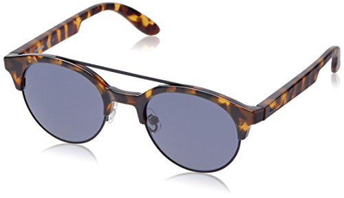 Carrera UV Protected Round Women's Sunglasses - (CARRERA 5035/S TNK 50KU 50 Blue Color) image