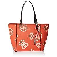 GUESS Womens Handbag, Orange/Multicolour - SO669123