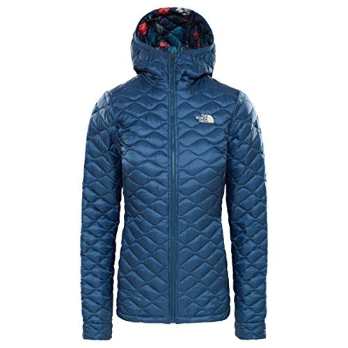 THE NORTH FACE Thermoball Hoodie Women Blue Wing Teal/Blue Wing Teal Joshua Tree Print Größe M 2019 Jacke (North Face Hoodie-jacke Damen)