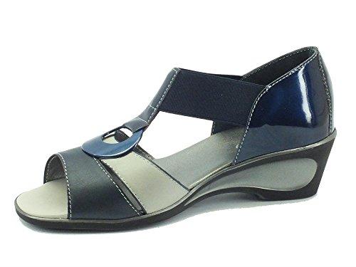 MELLUSO  08949 Blu, Sandales pour femme Bleu - Blu