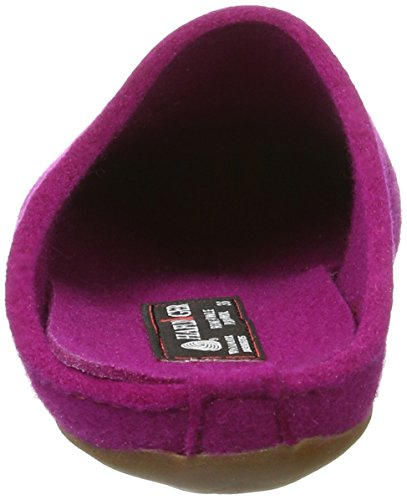 Haflinger Everest Noblesse, Pantofole Unisex-Adulto Pink (Kardinal)