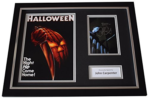 Sportagraphs John Carpenter Signed FRAMED Photo Autograph 16x12 display Halloween Film COA PERFECT GIFT