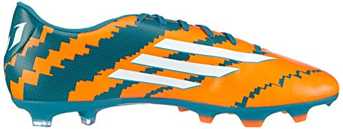 Adidas Performance Messi 10.3 Fg, Chaussures de Football Homme Multicolore (power Teal F14/ftwr White/solar Orange)