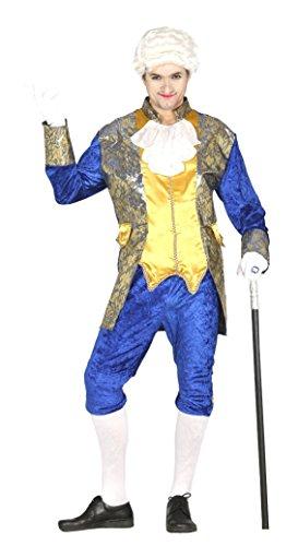 Costume marchese conte nobile veneziano blu taglia l