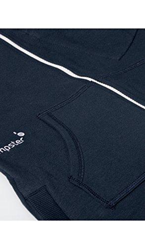 Jumpster Herren und Damen Jumpsuit Kurzer Overall Short Regular Fit Blau S - 5