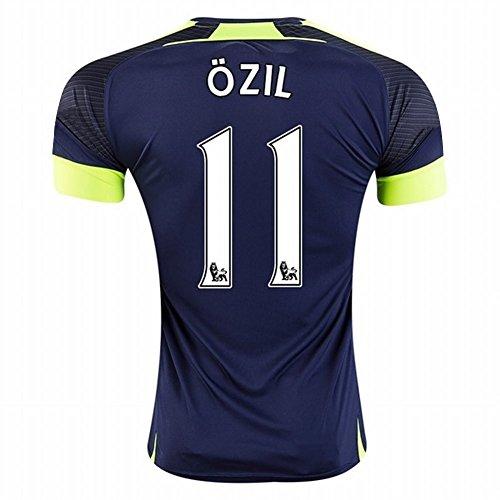 20162017Arsenal 11/Mesut Özil die Dritte Away Fußball Trikot in Marineblau für neue Saison xl navy