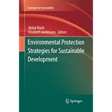 Environmental Protection Strategies for Sustainable Development (Strategies for Sustainability)