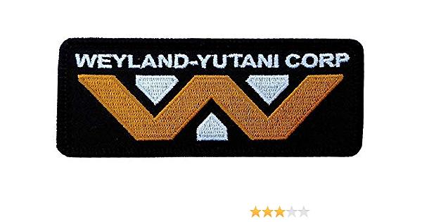 Titan One Europe Weyland Yutani Corporation Logo Patch Iron On Aufnäher Aufbügler Patch Auto
