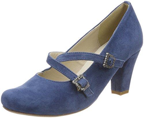 Andrea Conti Hirschkogel by Damen 3004511 Pumps, Blau (Jeans), 39 EU